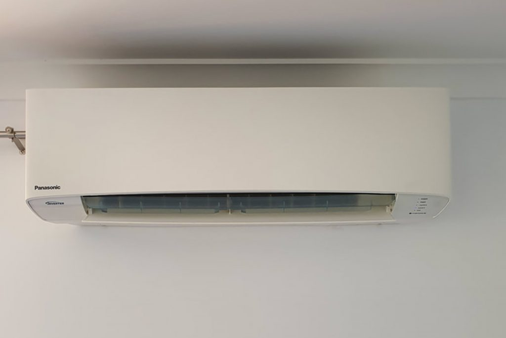 Panasonic air conditioner installation in Edgewater
