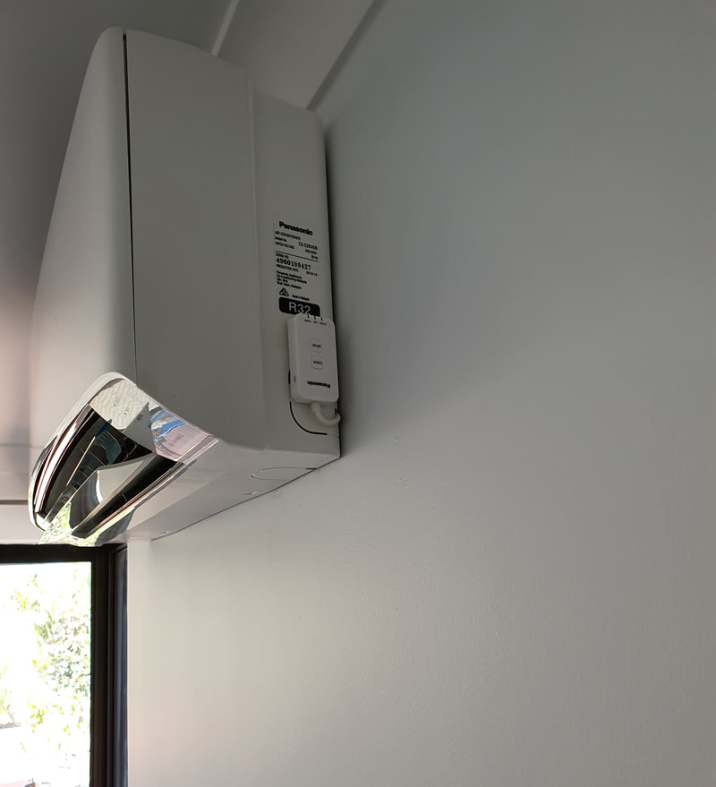 panasonic air conditioner with wifi
