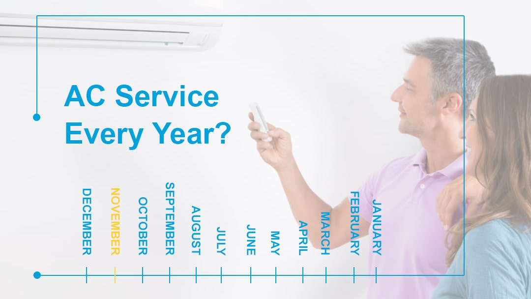 Is it necessary to service ac every year