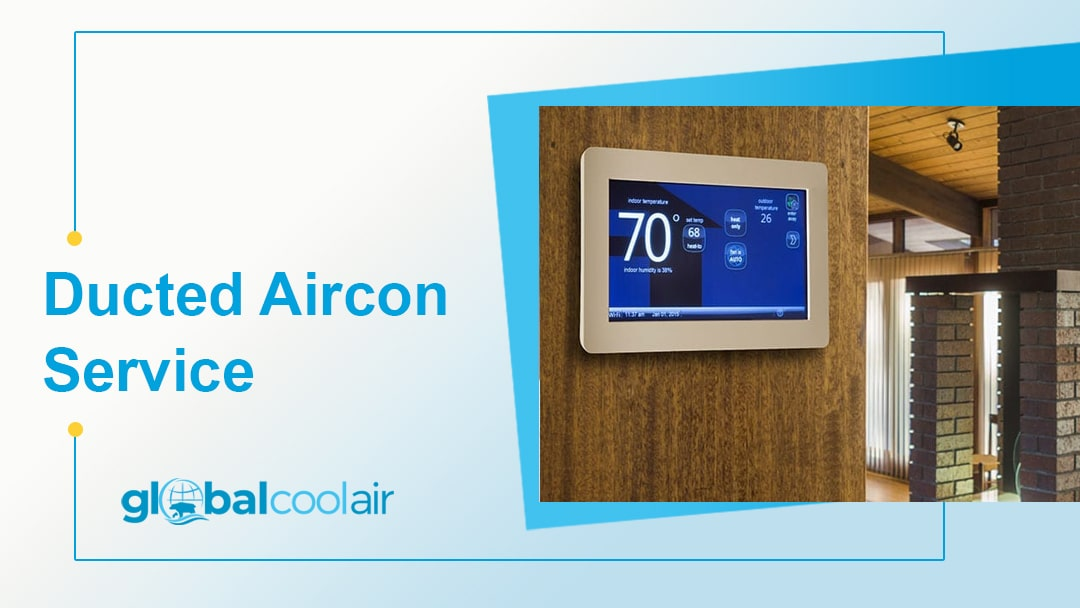 ducted aircon service - ducted reverse cycle air conditioning service