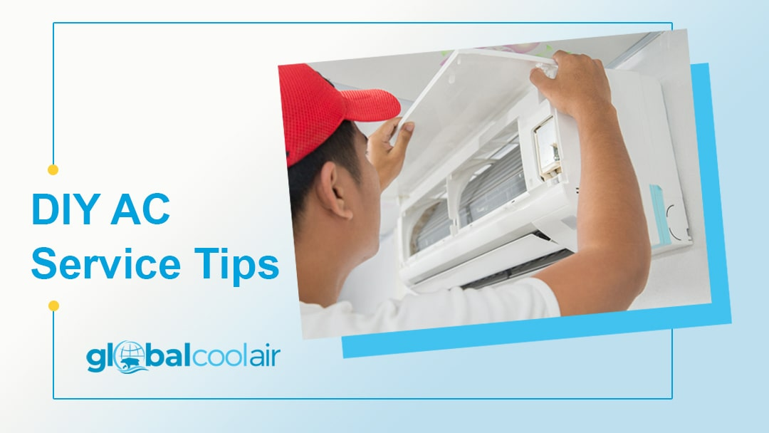 how to service an aircon
